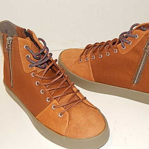 Creative ReCreation Men Sneakers Size 8 Suede Canv